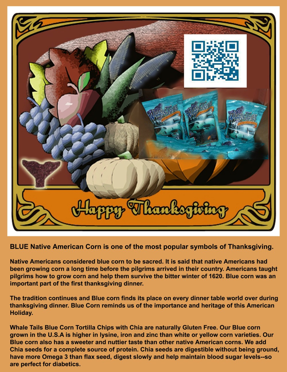 Thanksgiving facts about blue corn