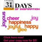 31 days of inspiration for joy & happiness workbook