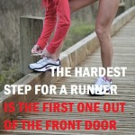 hardest step for a runner