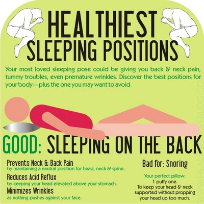 healthiest sleep position