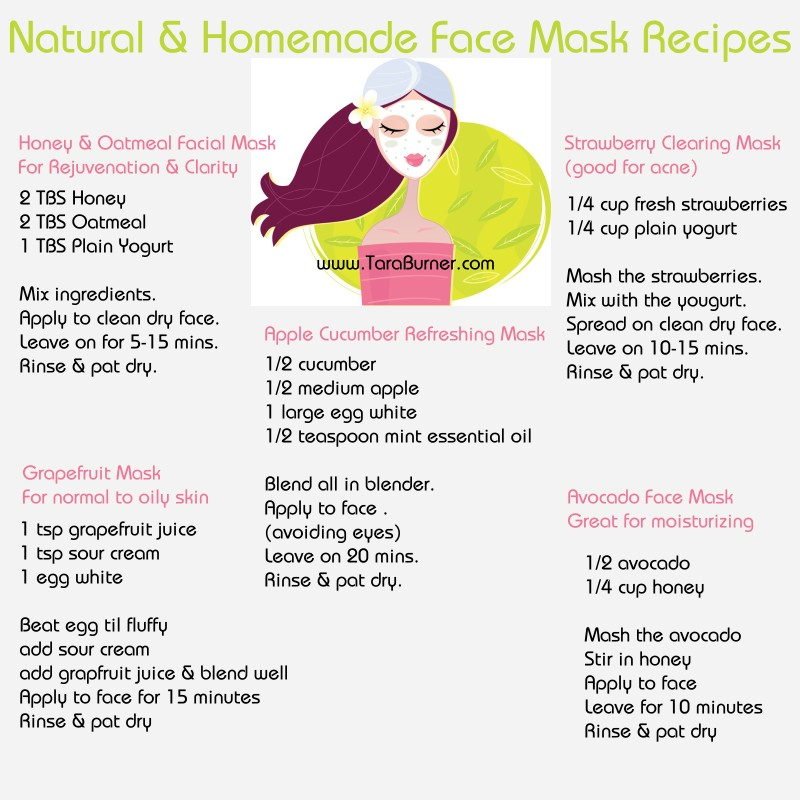 Simple facial recipes