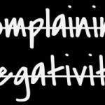 no complaining no negativity