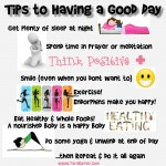 steps to having a good day