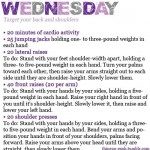 wednesday wellness workout