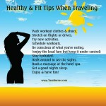 healthy fit tips when traveling