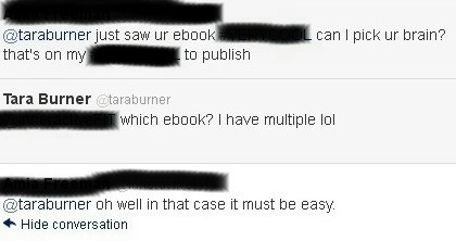 Let me pick your brain hard work on another topic which kinda goes hand in hand if someone does a lot or has multiple projects that does not mean that its easy it means that person works fandeluxe Ebook collections