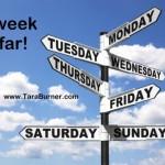 week so far
