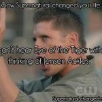 eye of tiger jensen ackles