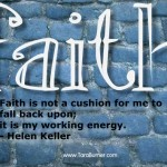 faith is working energy
