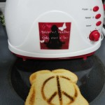 toaster with peace toast