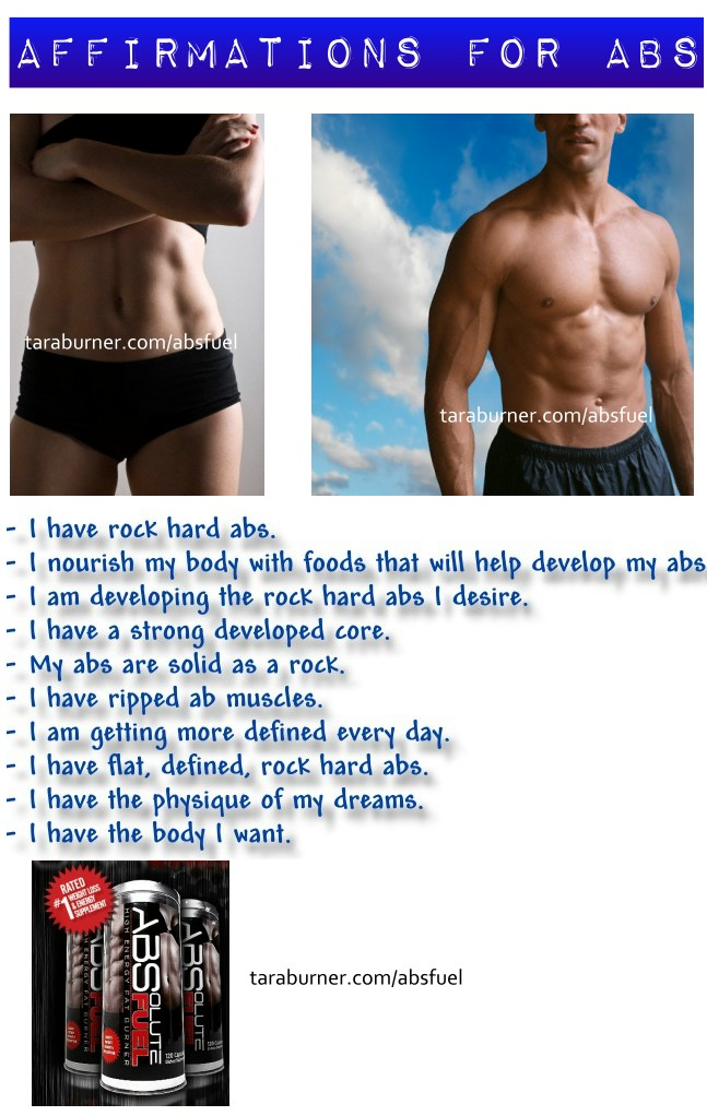 affirmations for abs