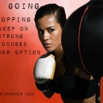 steps to take to keep going