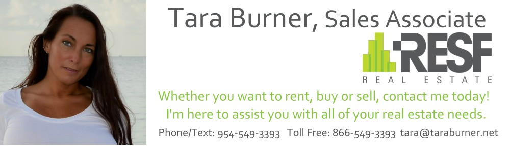 tara burner real estate sales associate for RESF