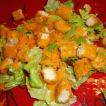 cravers chicken fries salad