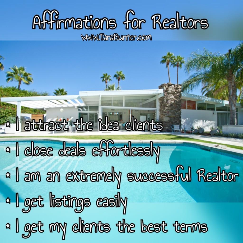 affirmations for realtors