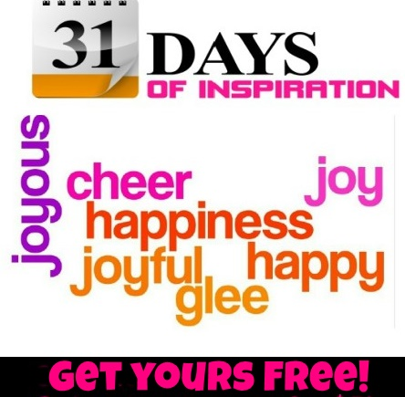 click on image to download your free 31 days of happiness ebook