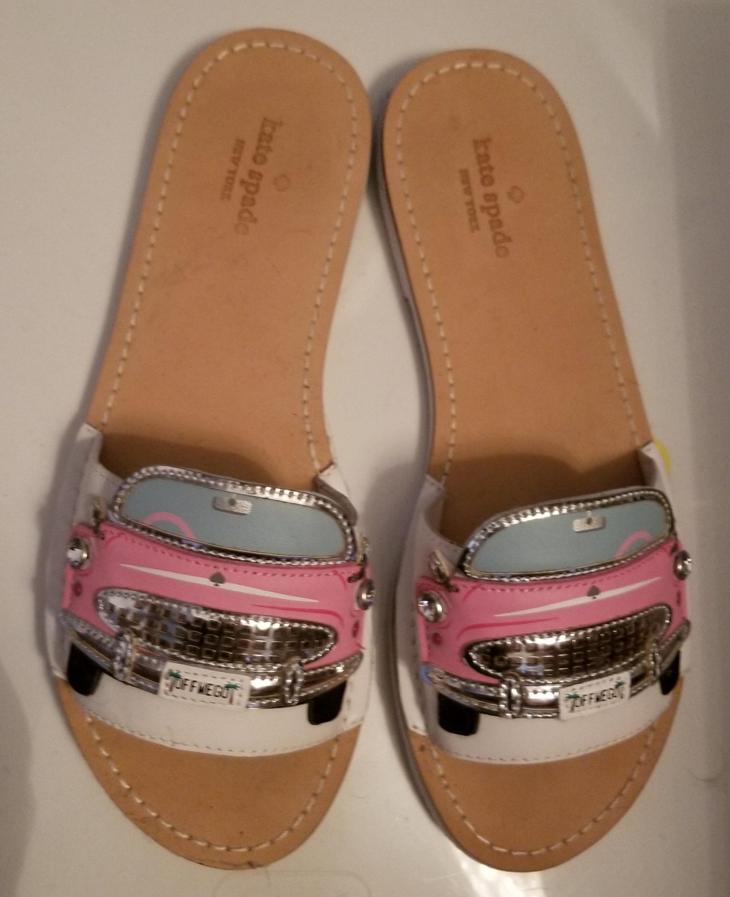 kate spade pink cadillac shoes